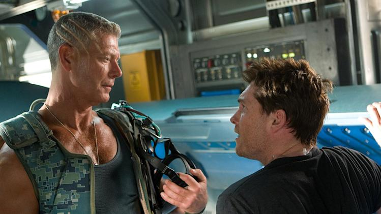 Avatar 20th Century Fox Production Photos 2009 Sam Worthington Stephen Lang