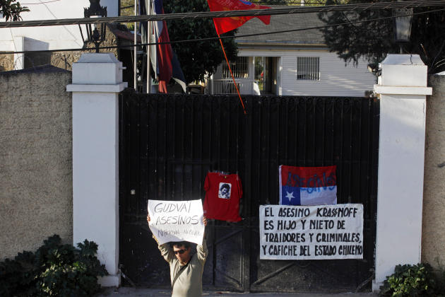 Chile Spy Chief Suicide