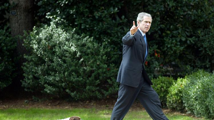 Bush Returns to the White House