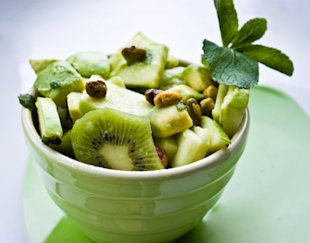 Mint Lime Spring Green Fruit Salad