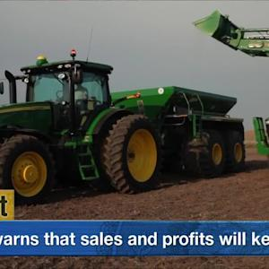Deere Beats Estimates But Warns Sales, Profits Will Keep Dropping