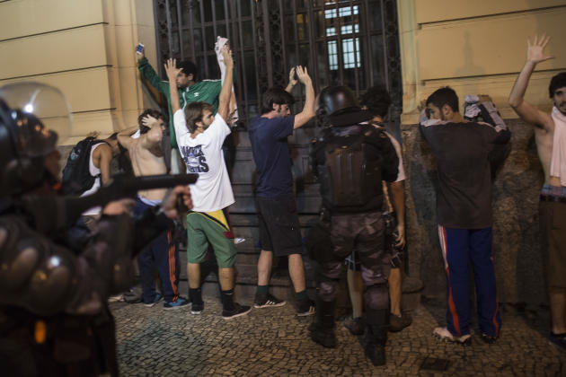 Brazil Soccer Confed Cup Protests