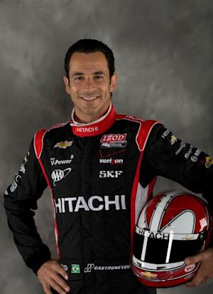 Helio Castroneves portrait -- IndyCar