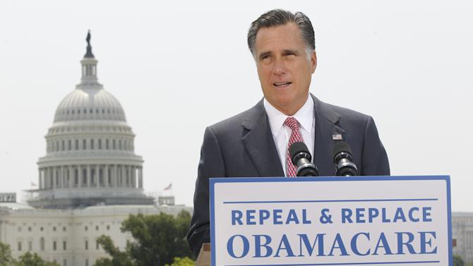 Big gaps in Romney plan on pre-existing conditions
