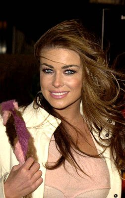Carmen Electra at the Westwood premiere of Dimension's Impostor