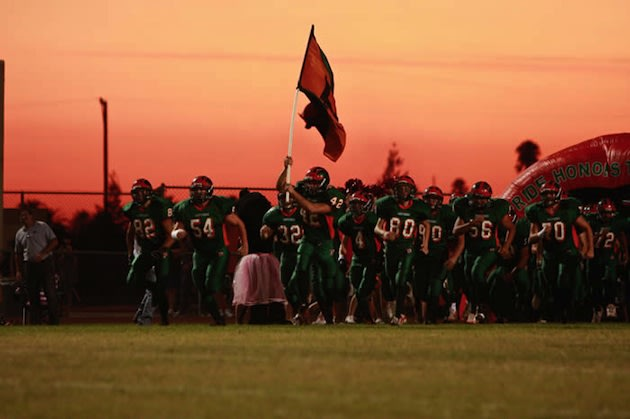 The Porterville football team, which scored 86 points in a wild win — Ci.Portervile.Ca.Us