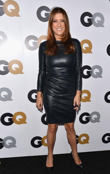 Kate Walsh: We love a sexy leather dress but Walsh's outfit looks as if its squeezing the life out of her. It's a fun look but the wrinkled leather makes it look uncomfortable on her. (Photo by Alberto E. Rodriguez/Getty Images)
