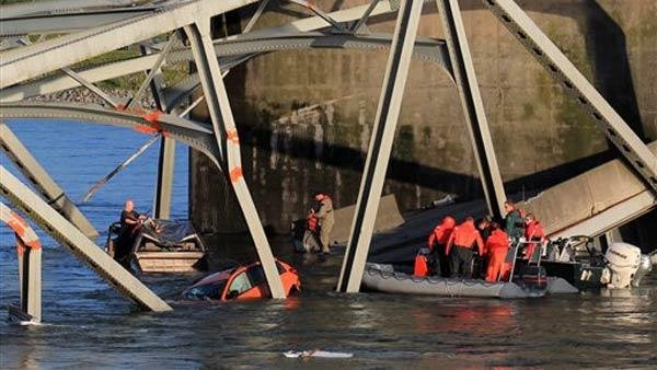 <p>The Washington State Patrol chief said the I-5 bridge collapse happened after a truck hit an overhead span.</p>