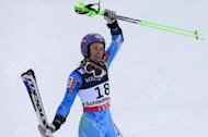 Twitter index: Tina Maze shares lead at skiing championships