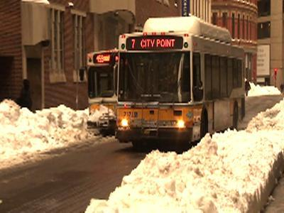 Northeast Commuters Dig Out, Head Back to Work