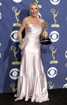 "Nicollette Sheridan of ""Desperate Housewives"" 57th Annual Emmy Awards Press Room - 9/18/2005"