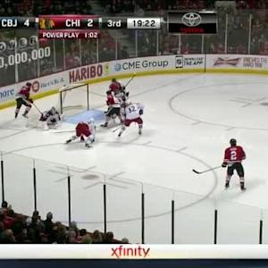 Sergei Bobrovsky Save on Brandon Saad (00:41/3rd)
