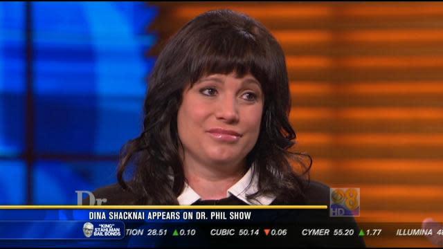 Dina Shacknai appears on 'Dr. Phil' show