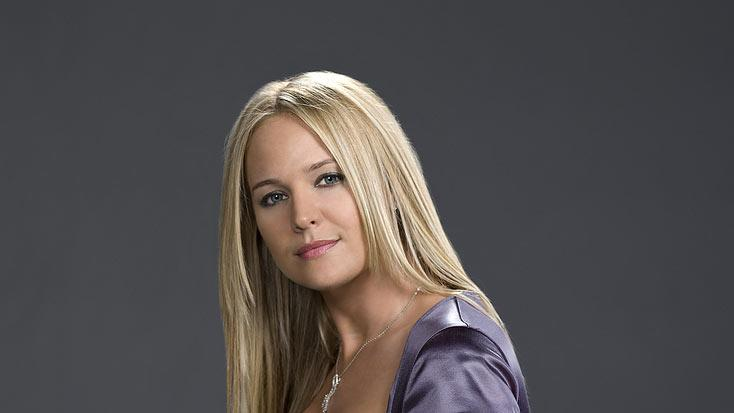 "Sharon Case stars as Sharon Abbott on ""The Young and the Restless."""
