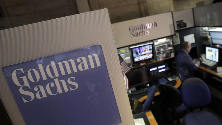 Government won't prosecute Goldman Sachs in probe