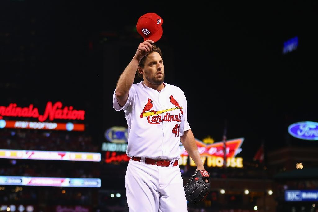 Lackey wins classic pitching duel for Cards
