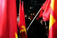 Supporters of the Greek Communist party (KKE) demonstrate in Athens against the austerity measures being imposed in return for rescue funds. Greece received a first payout of 7.5 billion euros ($9.9 billion) under its second international bailout, a finance ministry official said