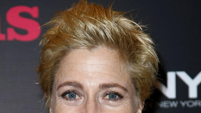 "Edie Falco attends the opening night of ""Reasons To Be Pretty"" at Lyceum Theatre April 2, 2009 in New York City."