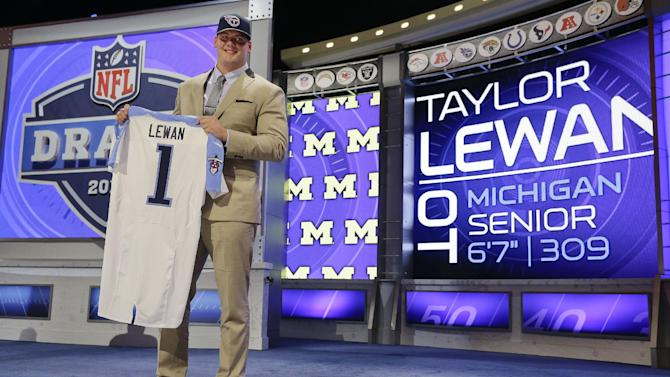 Titans take OT Taylor Lewan with No. 11 pick