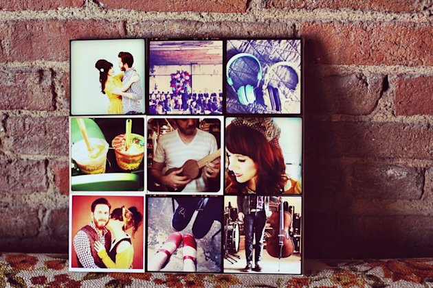 Instagram Canvas Collage