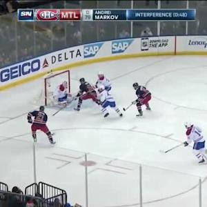 Dustin Tokarski Save on Rick Nash (01:15/1st)