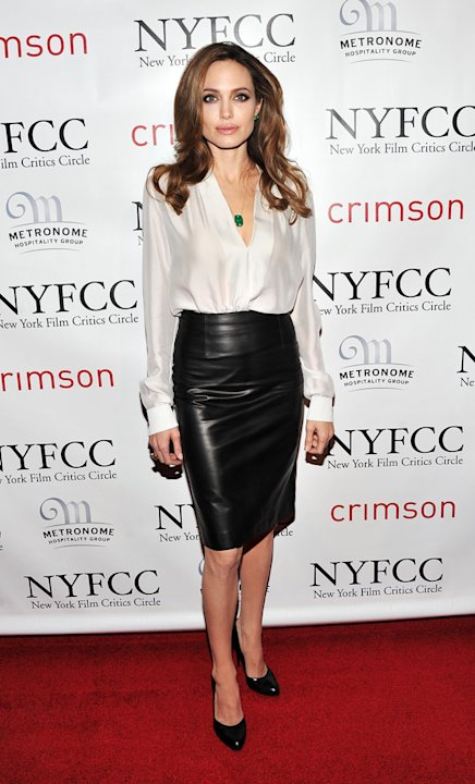 New York Film Critics Circle Awards 2012 Angelina Jolie