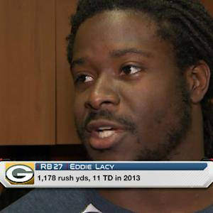 Green Bay Packers running back Eddie Lacy becoming a better all around player