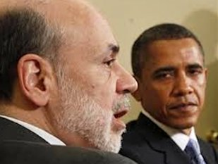 Obama and Bernanke