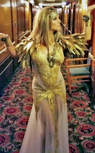 Britney Spears como Cleopatra via Facebook