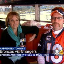 Broncos Tailgaters Start Early In Preparation For Thursday Night's Game