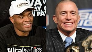 "Georges St-Pierre Doesn't Want to Fight Anderson Silva, ""That's a Fact,"" Says Dana White"
