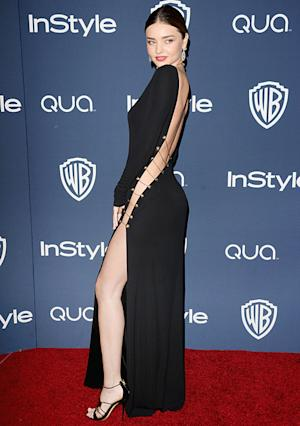 Miranda Kerr Goes Without Underwear at Golden Globes Afterparty: See the Picture!
