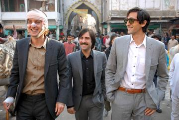 Owen Wilson , Jason Schwartzman and Adrien Brody  in Fox Searchlight's The Darjeeling Limited