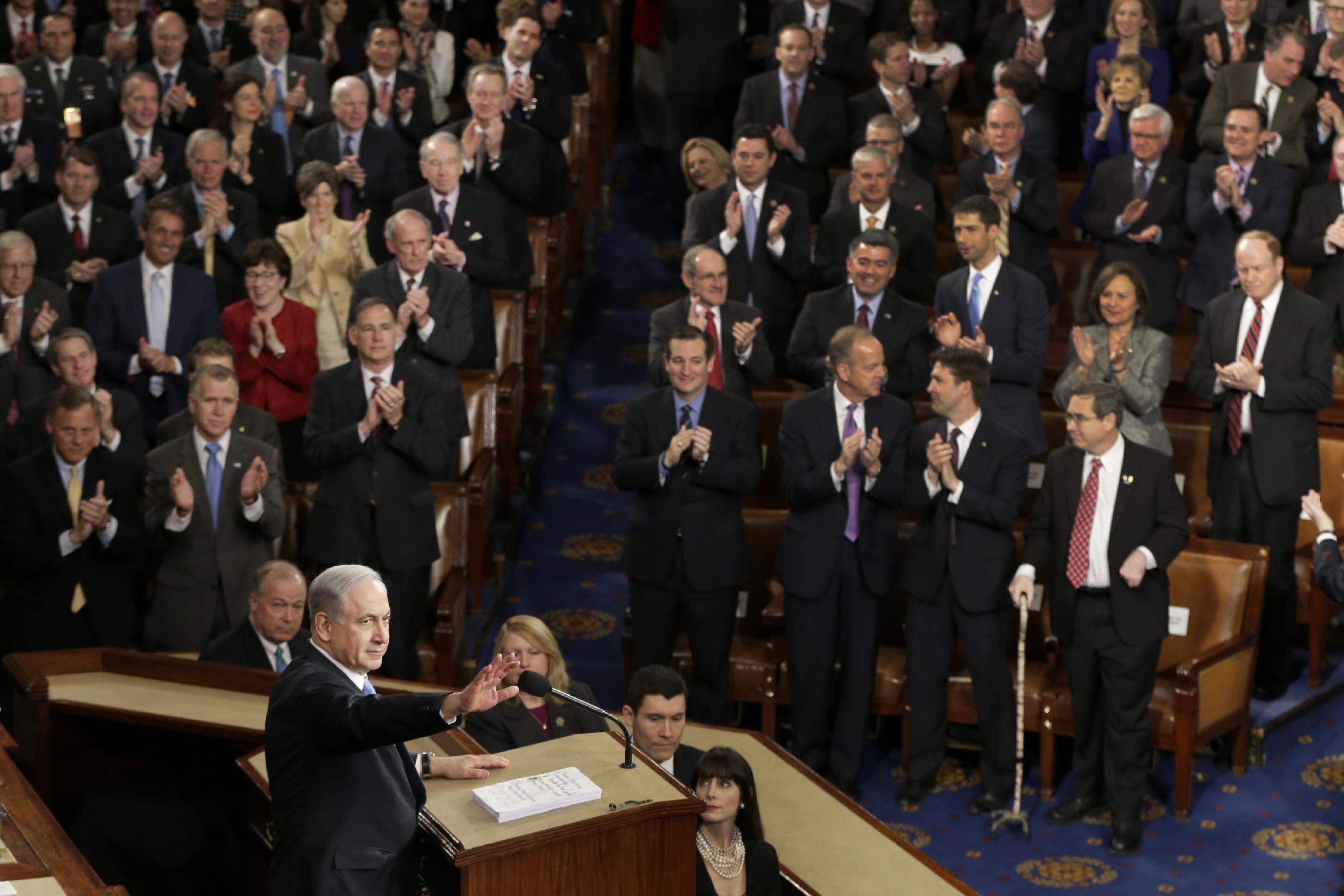 No precedent for Netanyahu's contentious speech to Congress