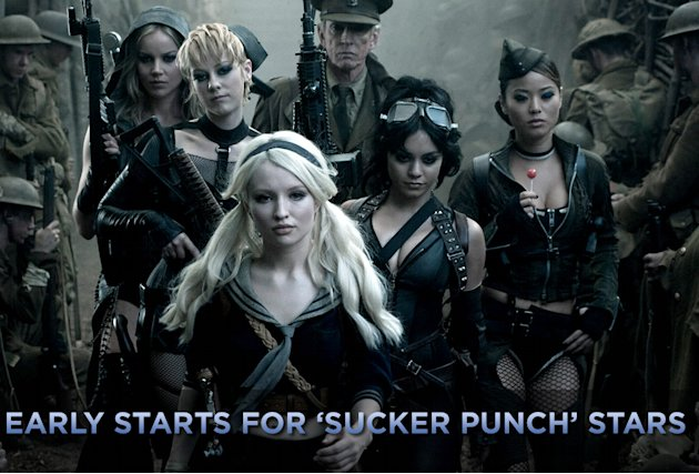 Early Starts for Sucker Punch Stars Title Card 2011