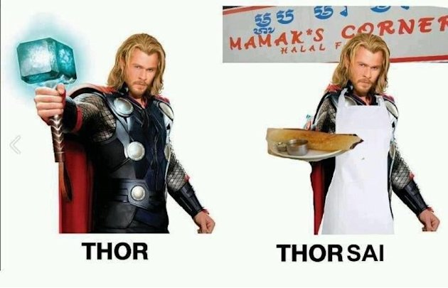 Malaysian Thor memes