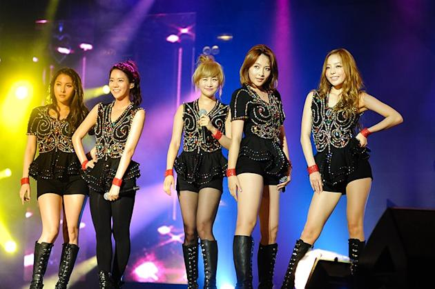 KARA at MTV World Stage Live in Malaysia 2012