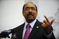 Michel Sidibe, executive director of UNAIDS, pictured in April 2012, said, &quot;Finding a cure for AIDS is a critical innovation gap.&quot;