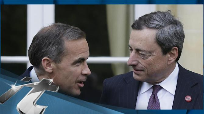 ECB's Draghi Says no Call for G7 Central Banks to Do More