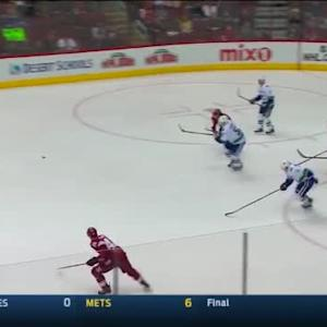 Canucks at Coyotes / Game Highlights