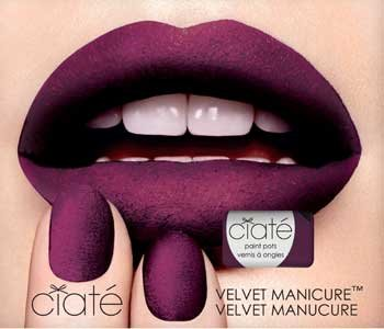 Have You Seen Ciaté's New Velvet Manicure?