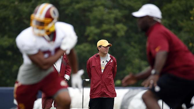 War & games: Ex-pilot heads Redskins special teams