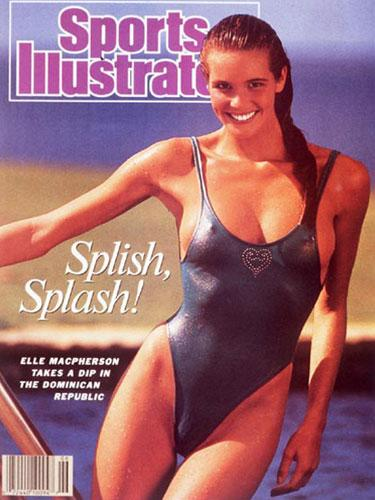 Elle MacPherson's Sports Illustrated Cover - 1987