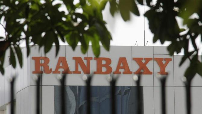 File photo of a Ranbaxy office building in the northern Indian city of Mohali