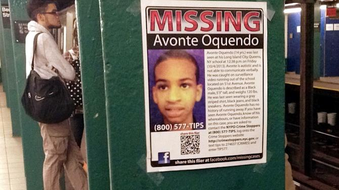 Remains Found in New York Are Those of Autistic Teen Missing Since October