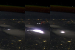 Astronaut Photo Captures Elusive, Strange Lightning