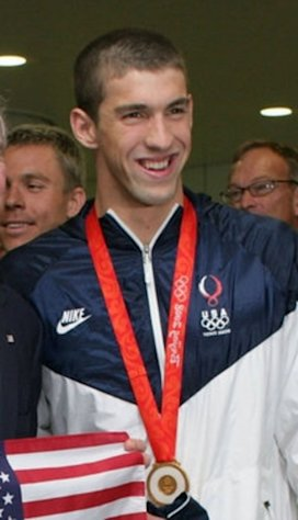 Swimmer Michael Phelps has the most gold medals (14) in Olympics history.