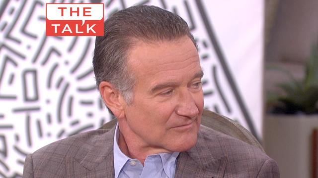 The Talk - Mrs. O's Touching Robin Williams Moment