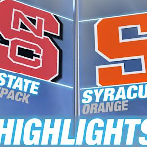 NC State vs Syracuse | 2014-15 ACC Women's Basketball Highlights