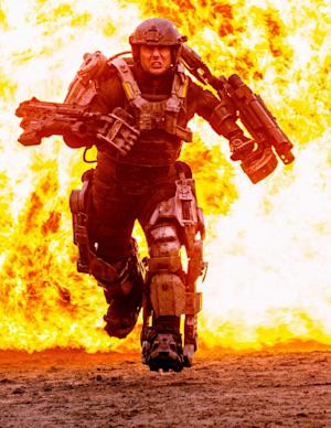 Tom Cruise plays Lieutenant Colonel Bill Cage in director Doug Liman's 'All You Need Is Kill' due March 14, 2014 -- Warner Bros